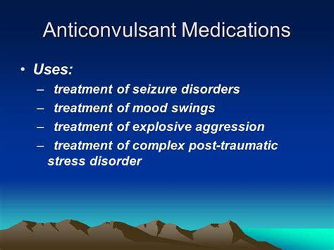 treatment for mood swings a brief overview of psychotropic medications ppt download
