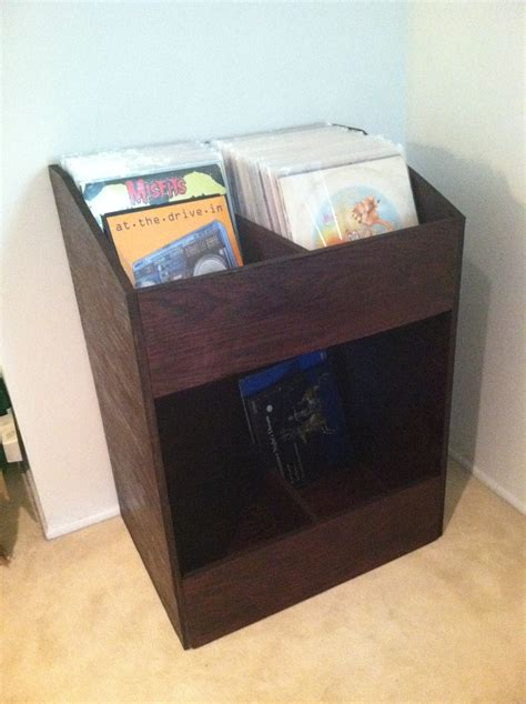 i built a vinyl record shelf johnvantine