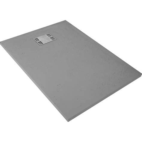 Receveur de douche rectangulaire l.120 x l.90 cm, résine