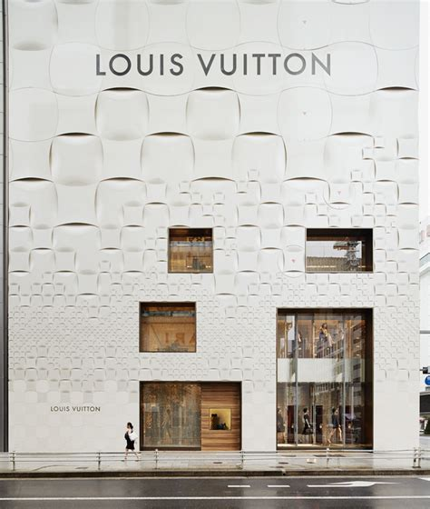 damier pattern history new louis vuitton store facade takes us on a journey in