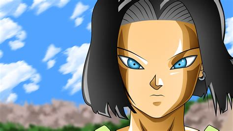 dragon ball super wallpaper for android android 17 dragon ball 11 wallpapers