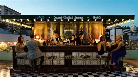 top ten bars in hollywood west hollywood s best rooftop bars passport