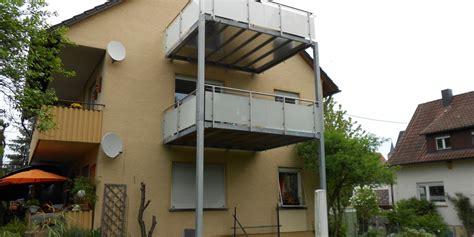 edelstahlgeländer mit glas balkone balkon 002