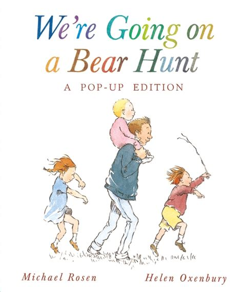we re going on a bear hunt books