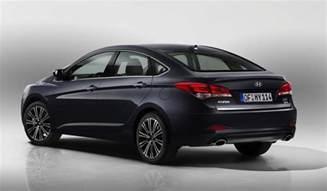 I40 Hyundai Sedan 2015 Hyundai I40 Revealed Shows Sharp New Look