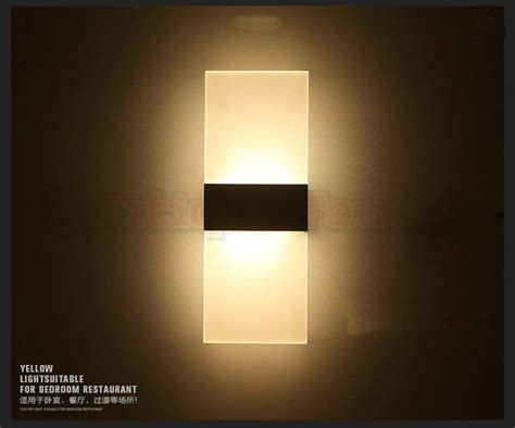 Thin Wall Sconce Ac85 265v 6w Led Warm White Wall L Bedside L Bedroom