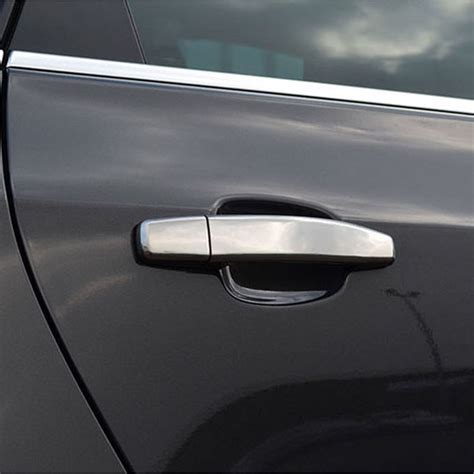 vauxhall opel astra h j mokka abs chrome car door handles