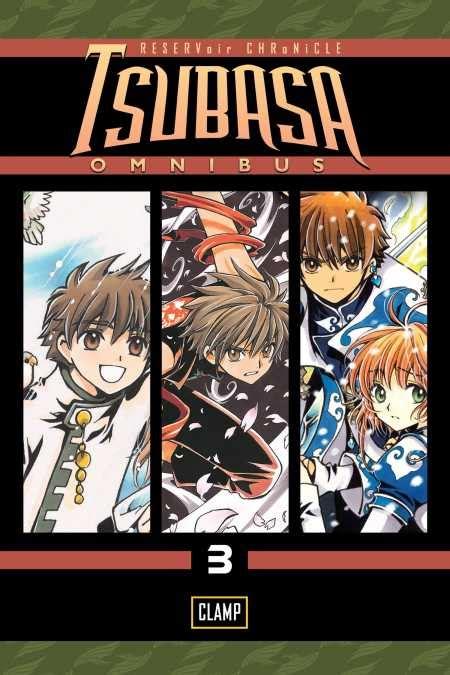 tsubasa omnibus 3 kodansha comics