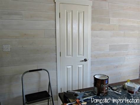 Whitewash Interior Walls by Painted Plank Walls Finally Domestic Imperfection