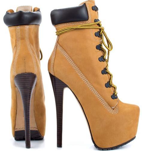 Boot Heels shop fashion lace up nubuck ankle boot platform