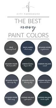 Pottery Barn Benjamin Moore 12 Classic Navys That Will Last Through Any Trend City