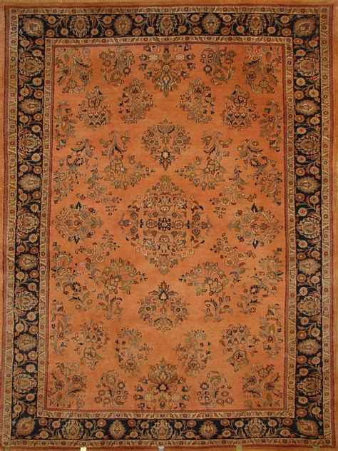 discontinued rugs knoted rust orange medium blue navy colors clearance rugs discontinued rugs 0712