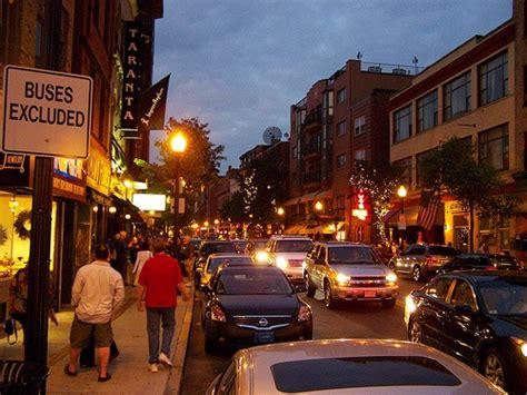 boston italian section hanover street north end boston italian section of the