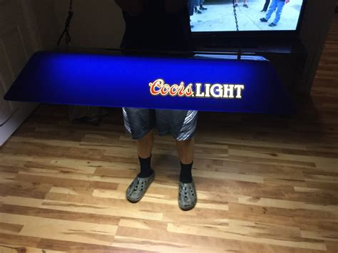 coors light pool table light letgo coors light pool table light in advance nc