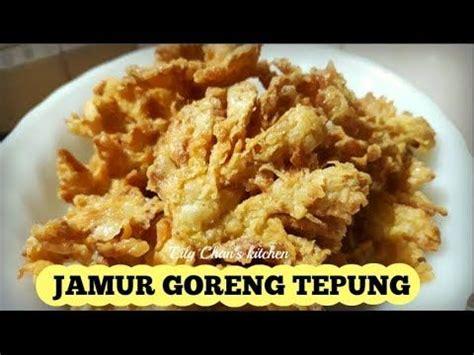 jamur goreng tepung ala lc youtube appetizers rice food