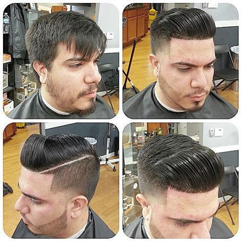 hairstyle that is slick in the front and curly in the back slick back haircuts 40 trendy slicked back hair styles
