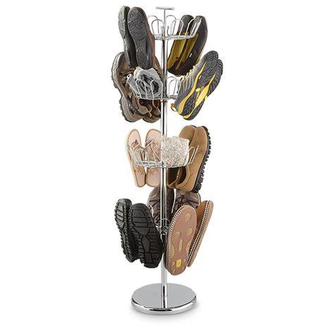 Revolving Shoe Rack by Castlecreek 174 4 Tier Revolving Shoe Rack 299495