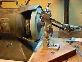 sharpening a drill bit on a bench grinder drills and commercial on pinterest