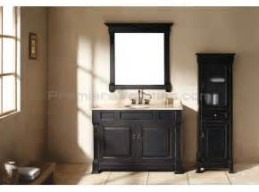 bathroom classic style small bathroom vanity set in black