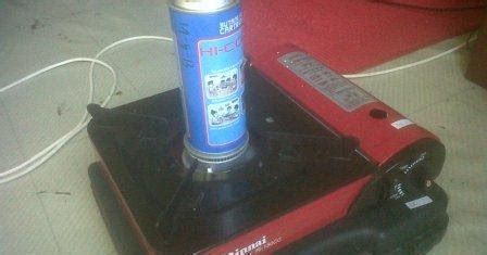 Kompor Bakar Cat kompor gas portable