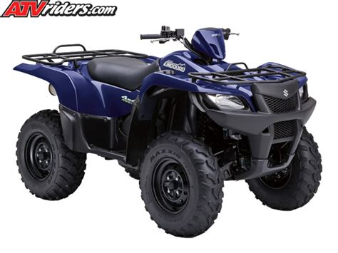 Suzuki Utility Atv Suzuki Announces Two New Kingquad Utility Atv Models