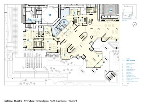 National Gallery Floor Plan by Gallery Of National Theatre Haworth Tompkins 25