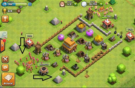 tips pertahanan defense terbaik pada clash of clans apk modified
