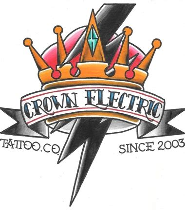crown electric tattoo home crown tattoos