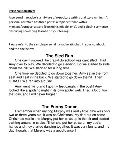 Sad Story Essay by Writing Notebook Prompts