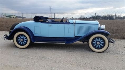 chrysler roadster 1929 chrysler model 75 classic chrysler model 75