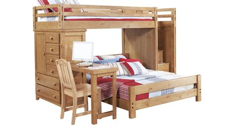 Creekside Bunk Beds Creekside Taffy Step Bunk Bed With Desk And Chest Bunk Chest Desk