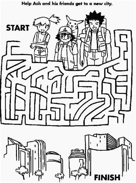printable maze book pokemon maze hidden picture mazes pinterest pok 233 mon