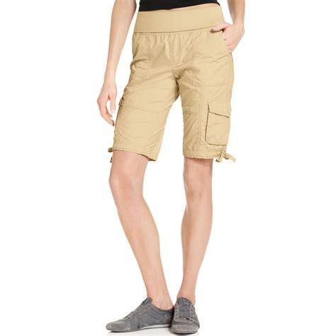 Cargo Us Army Levi S Uniqlo Calvin Klein Alpha Adidas Jacket calvin klein performance bermuda cargo shorts in beige