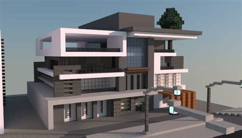 Beautiful Design My Own House Game #2: Modern-house-box-minecraft-building-ideas-home.jpg