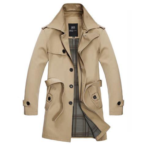 trench coat fashion leisure coat khaki trench