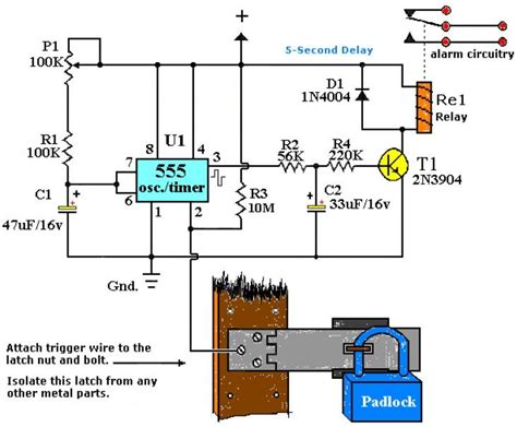 Alarm Motor Sensor Sentuh niki trik kulo rangkaian saklar sentuh dengan ic 555