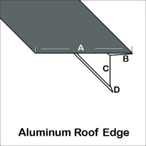 aluminum edge aluminum roof edge trim bender