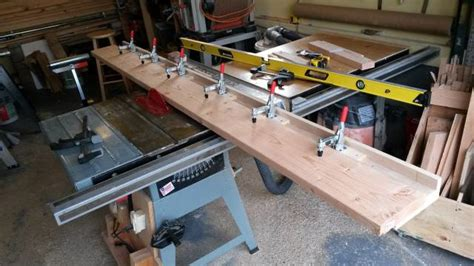 table saw jointer jig jointer sled for table saw woodworkingweb