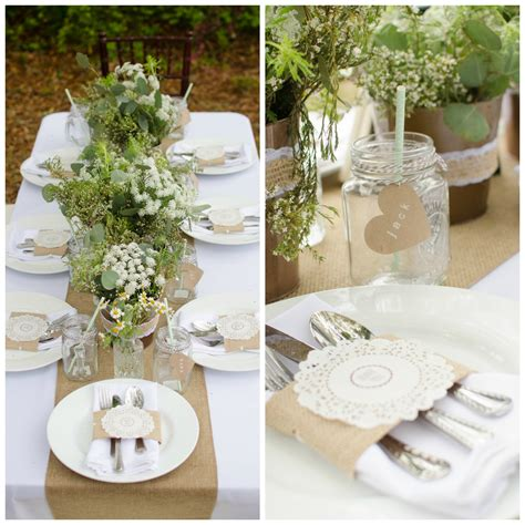 wedding tablescapes southern burlap tablescape pensacola wedding planner