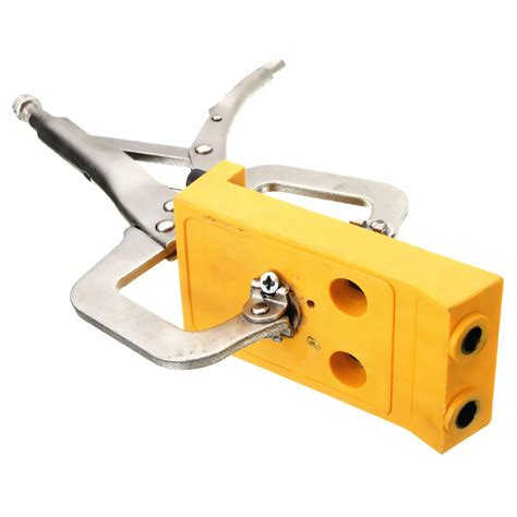 Wood Woodworking Pocket Drill Guide Jig Kit