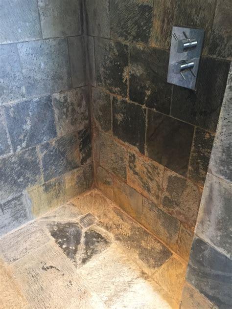 remove limescale  shower tiles tile design ideas