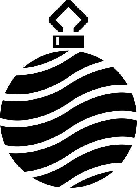 onlinelabels clip art simple tree bauble silhouette