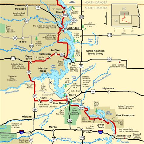 americas byways native american scenic byway south dakota section