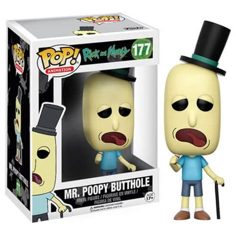 Evil Morty Pop Vinyl - rick and morty mr poopy butthole pop vinyl figure
