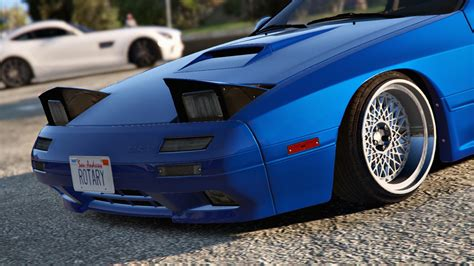 mazda rx7 86 mazda rx7 fc3s add on replace tuning gta5 mods