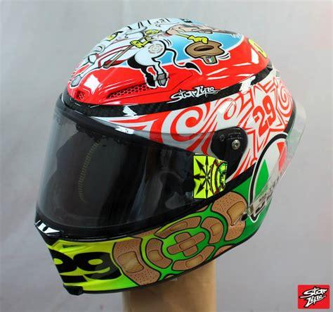 design helm andrea iannone racing helmets garage agv pistagp a iannone mugello 2013