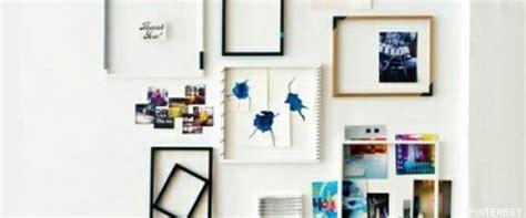 ideas para decorar la casa baratas decorar con cuadros 33 ideas para enmarcar fotos