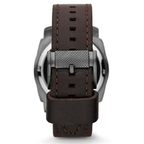 Fossil Me1122 fossil me1122 mechanical twist leather brown