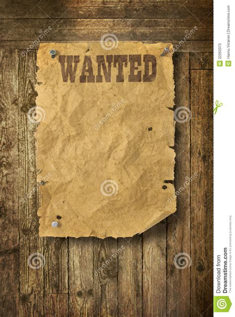 wild west wanted poster stock image image  grunge