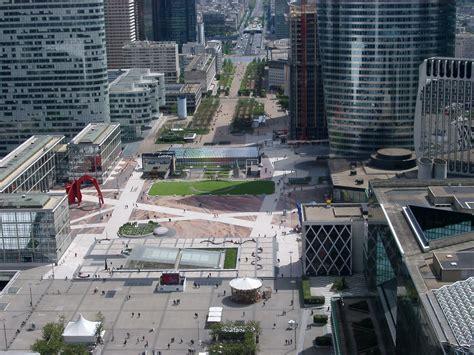French Architecture free stock photo of central esplanade in la defense
